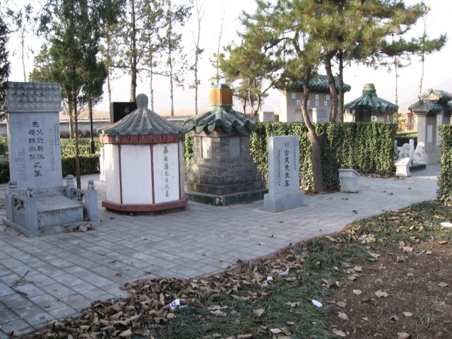 Tombs of other bagua masters