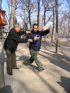 Li Guoliang teaching Nitzan