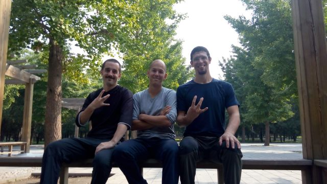 Fritz, Joe and me