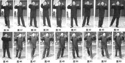 M Yao Chengguang demonstrating Kai He Shi Li